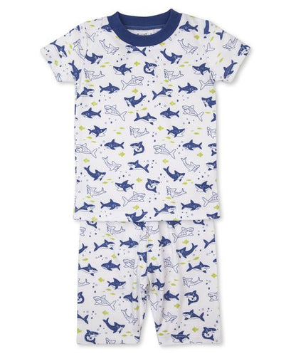 SLINKY SHARKS PAJAMA SHORT SET