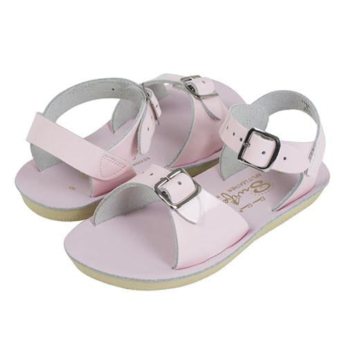 Sun-San Sea Wee Shiny Pink Sandals