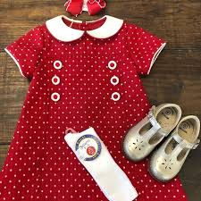 PHYLLIS DRESS - RED DOT