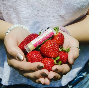 Organic Lip Balm - Strawberry
