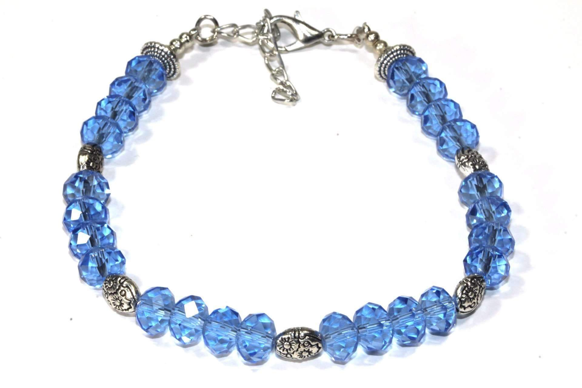 Sparkly Crystal Beads Bracelet