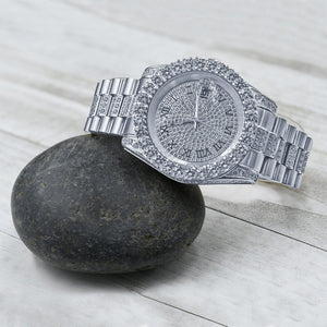 MONARCH Steel CZ Watch | 530311