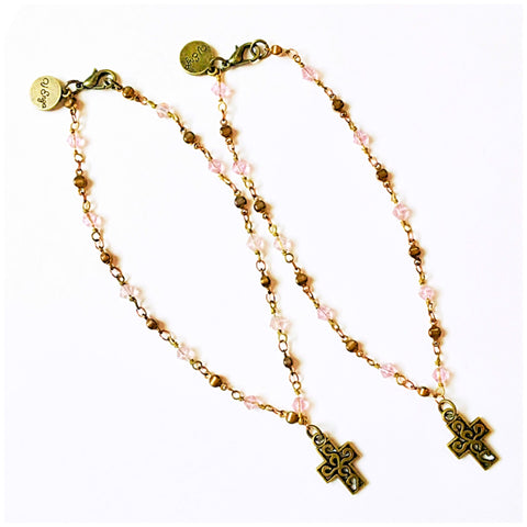 Walk in Faith Anklets