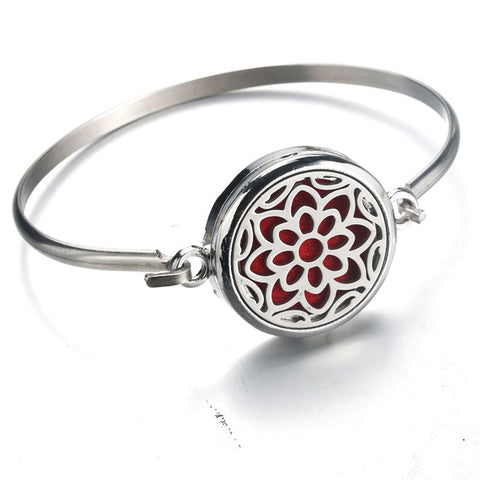 30mm Stainless Steel Bracelet Bangle Essential Oil