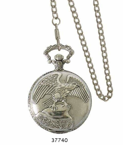 46MM Milano Expressions Engraved Pocket Watch -
