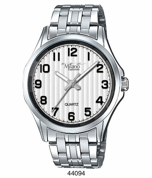 41MM Milano Expressions Metal Band Watch - 4409