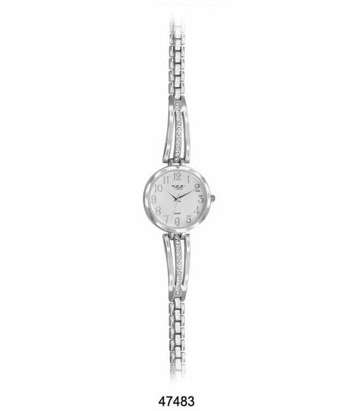 34MM Milano Expressions Metal Bracelet Watch -