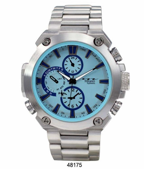 49MM Milano Expressions Metal Band Watch - 4817