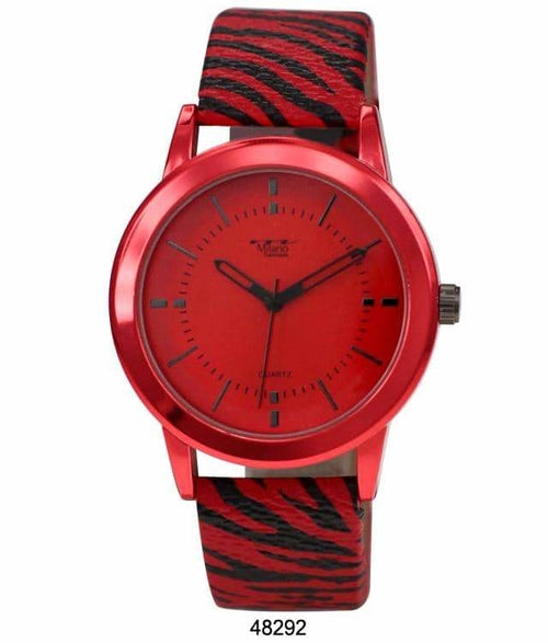 40MM Milano Expressions Animal Print Watch - 4829