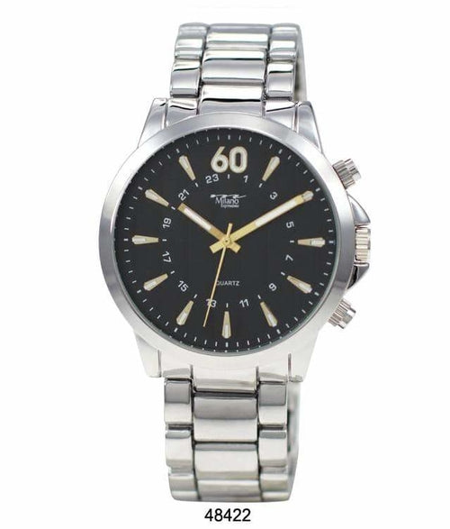 45MM Milano Expressions Metal Band Watch - 4842