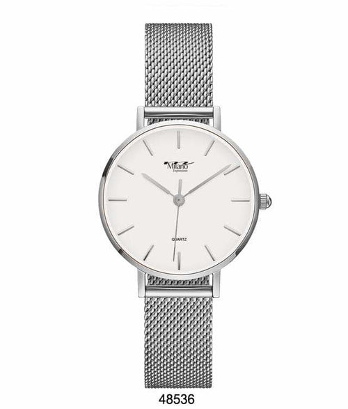 41MM Milano Expressions Mesh Band Watch - 4853