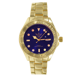 YACHT Masterpiece Men Classic Gold Watch | 5621713