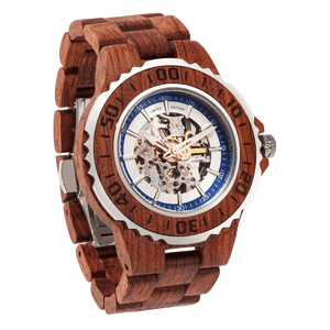 Men's Genuine Automatic Kosso Wooden Watches