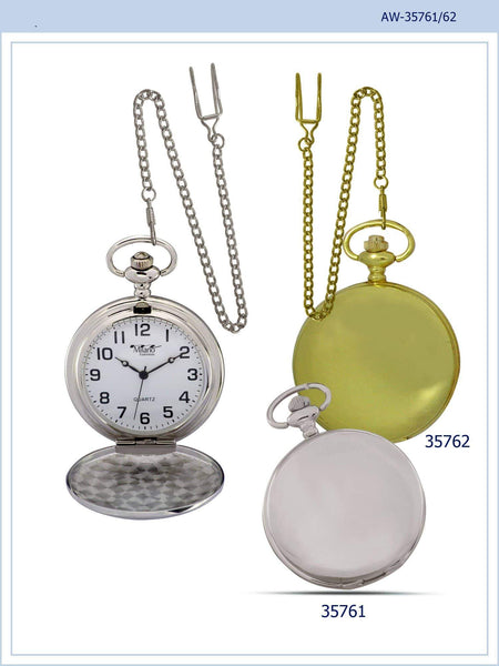 46MM Milano Expressions Plain Pocket Watches -