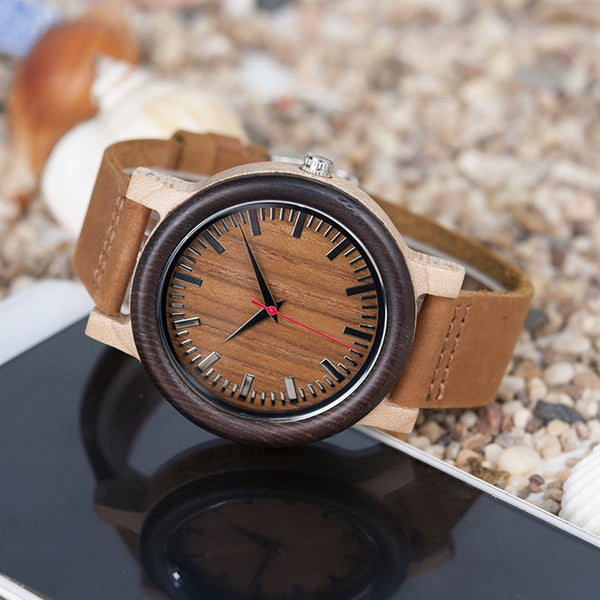 M14 Vintage Unique Design Wooden Watch