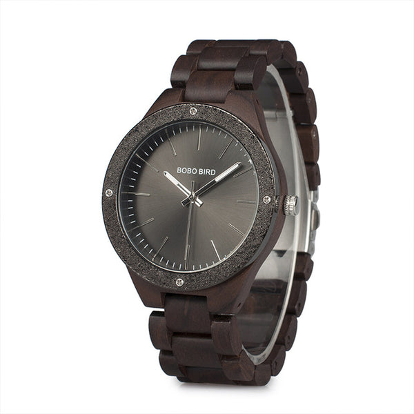 New Arrival Wooden Watches Golden Dial