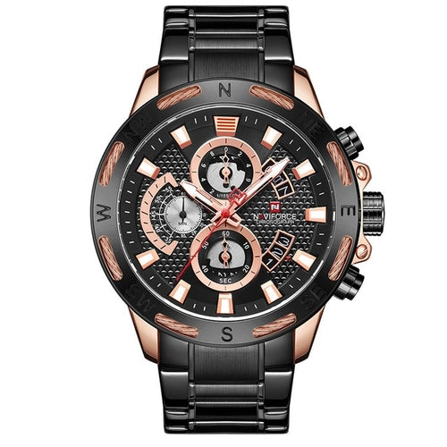 NAVIFORCE Men Watch Top Brand Luxury Quartz Men's