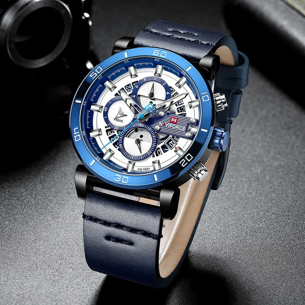 NAVIFORCE Mens Sports Watches Men Top Brand Luxury