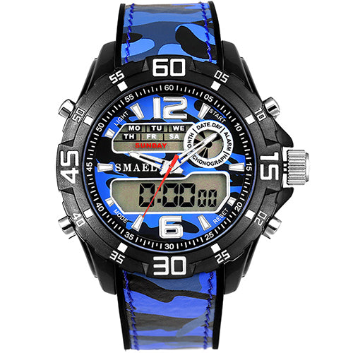 Sports Watches for Man Alarm Waterproof