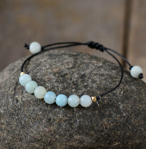 Simple Bohemian Bracelet Fashion Amazonite Bead
