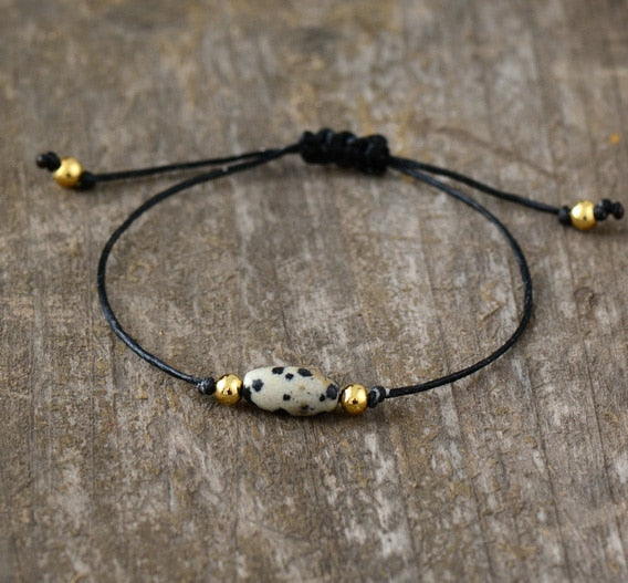 Simple Bracelets Fashion Natural Stones Adjustable