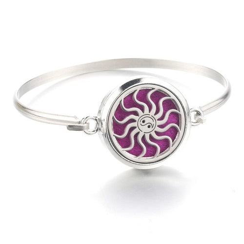 Snowflake Stainless Steel Bracelet Essential Oil