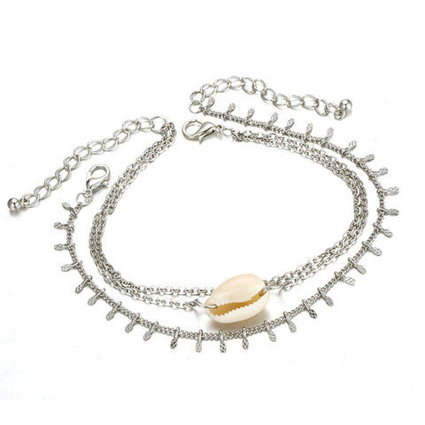Women's Shell Beach Foot Chain