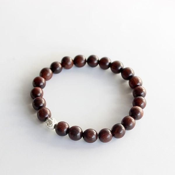 Dark Sander Wood Tibetan Buddhism Mala