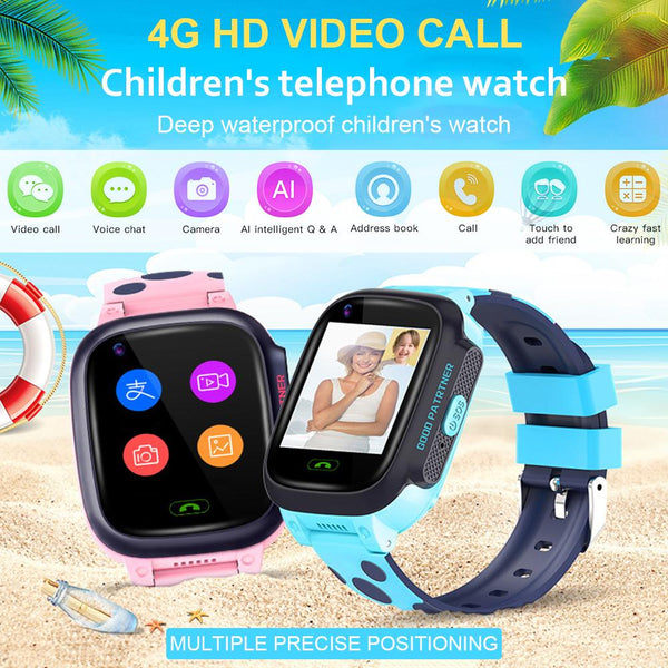 Y95 4G Children Smart Watch HD Video Chat Call