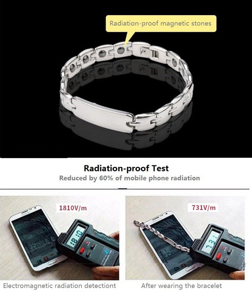 Radiation-Proof Couple Bracelets