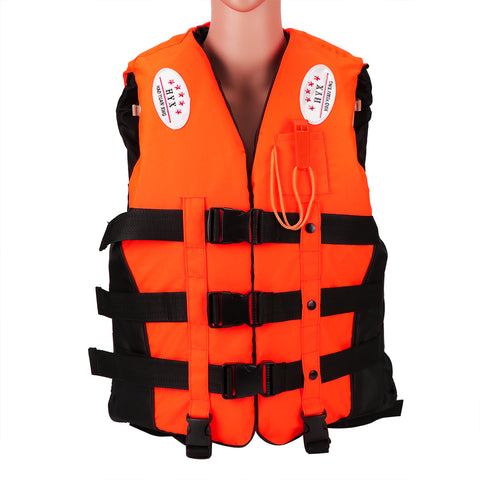 Life Jacket Aid Life Vest with Whistle Size L
