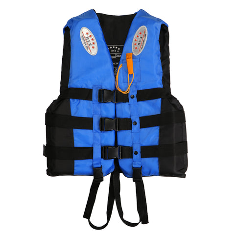 Life Jacket Vest with Whistle Size XXL Blue Color