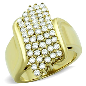 TK1554 IP Gold(Ion Plating) Stainless Steel Ring