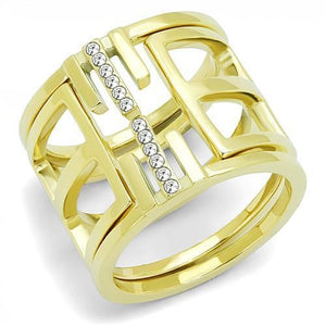 TK3198 IP Gold(Ion Plating) Stainless Steel Ring
