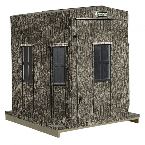 SHADOW HUNTER MARKSMAN SERIES 6X6 OCTAGON COMBO BLIND MM66OA  (CALL FOR PRICING)