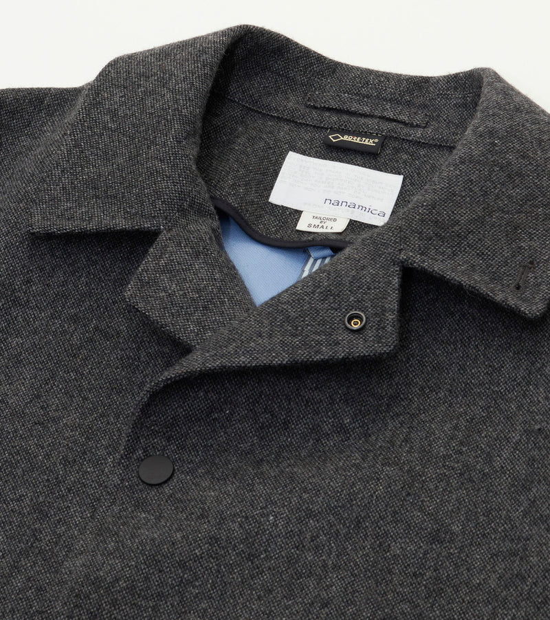 GORE-TEX Soutien Collar Coat in Wool