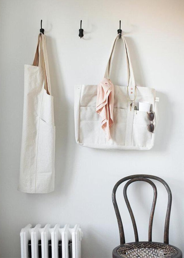 Canvas Workshop Apron, Natural
