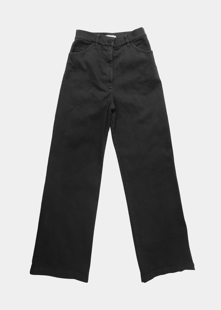 Solar High Waisted Jean in Black