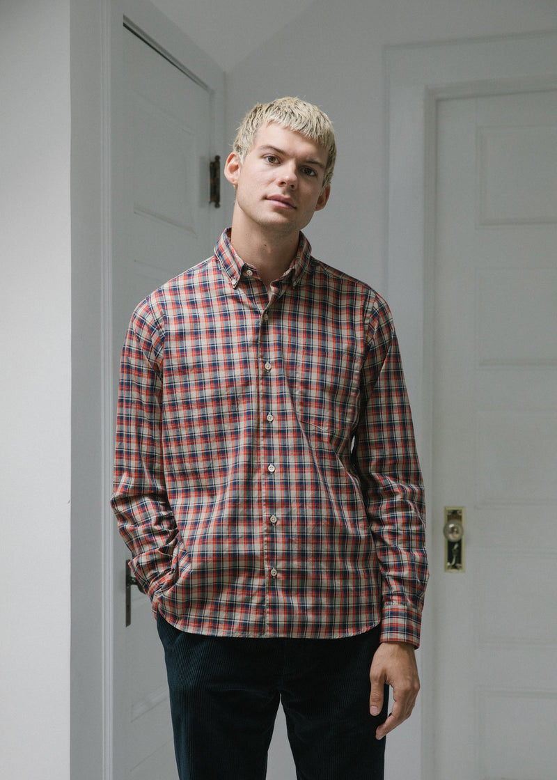 Single Needle Shirt, Tartan