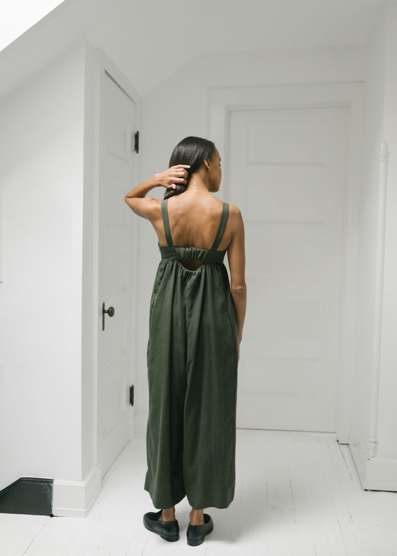 The Metro Jumpsuit, Pine