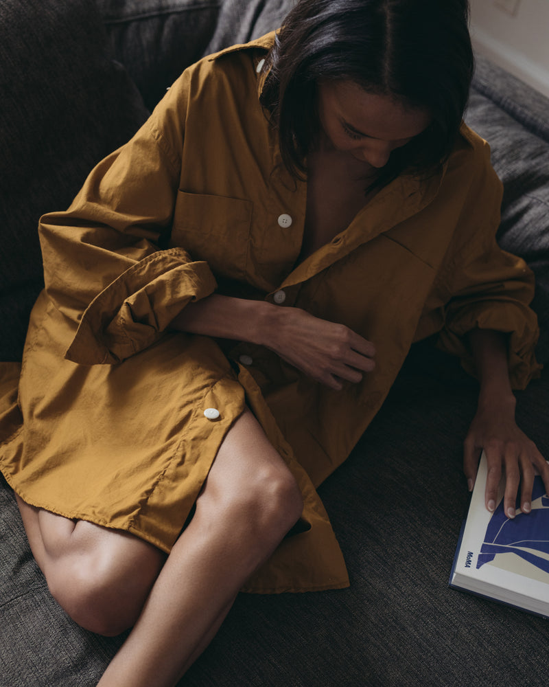 The Couch Dress, Ochre