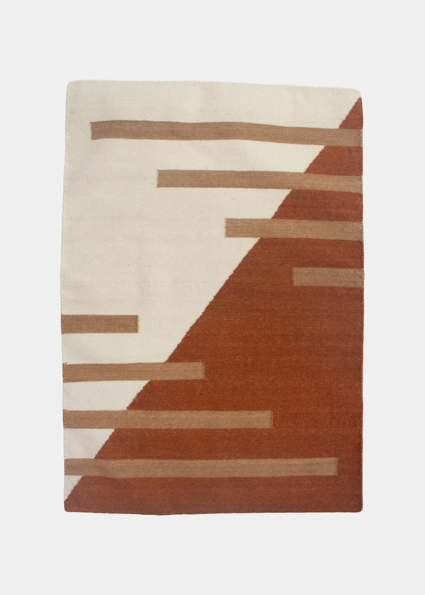 LUNA STRIPES RUG - OCHRE