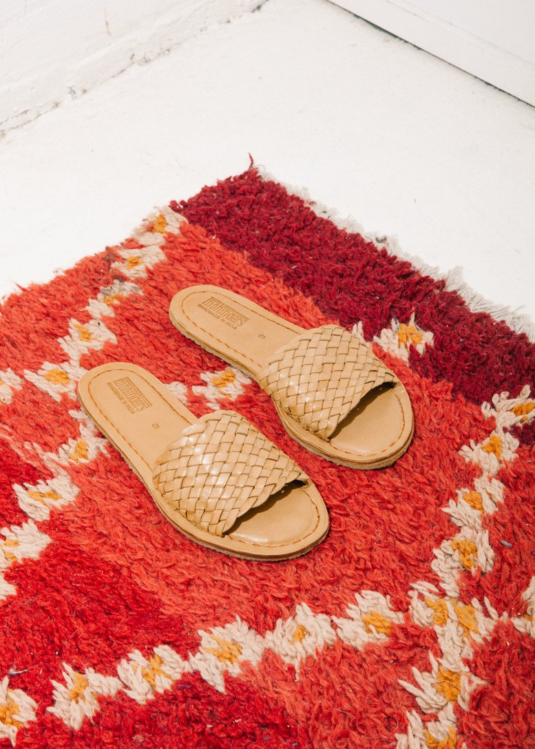 Women's Woven Sandal in Natural