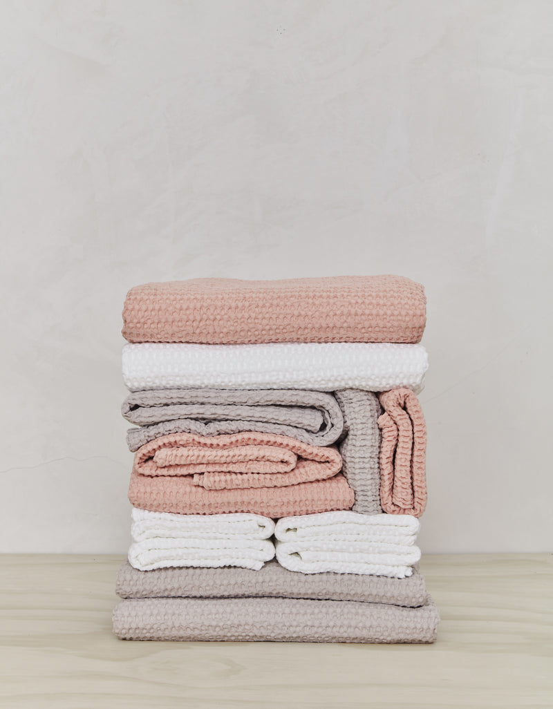 Simple Waffle Towels / Assorted