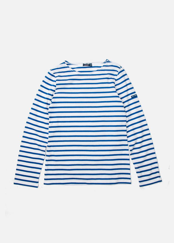 Minquiers Moderne Long Sleeve in Neige/Gitane