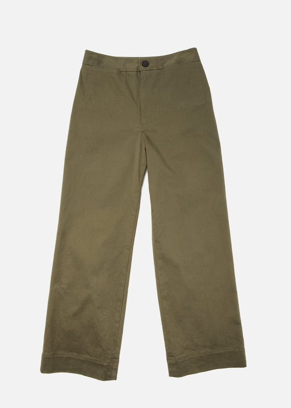 Monroe Pant in Olive