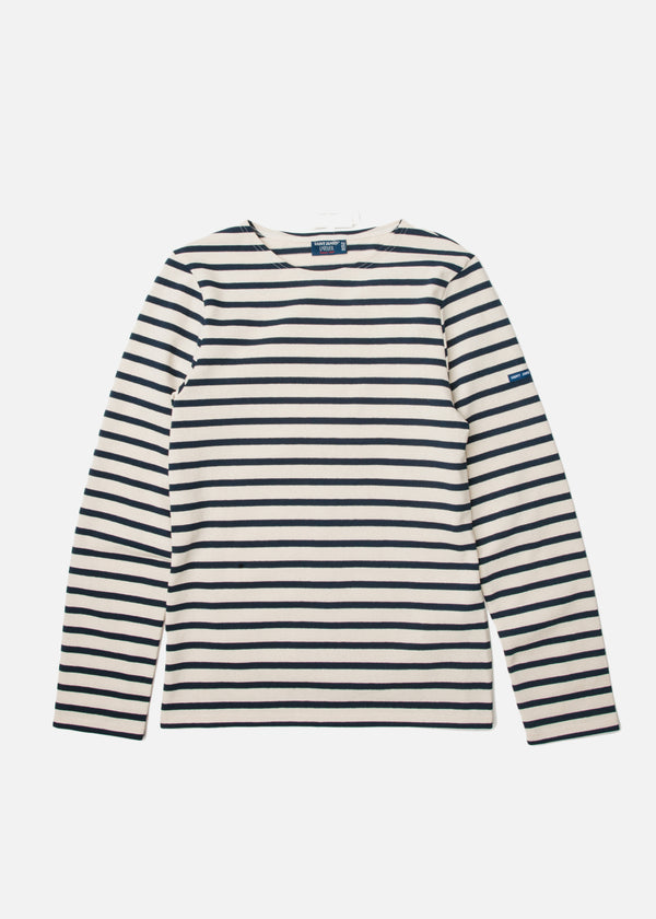 Meridien Moderne Long Sleeve in Ecru/Marine