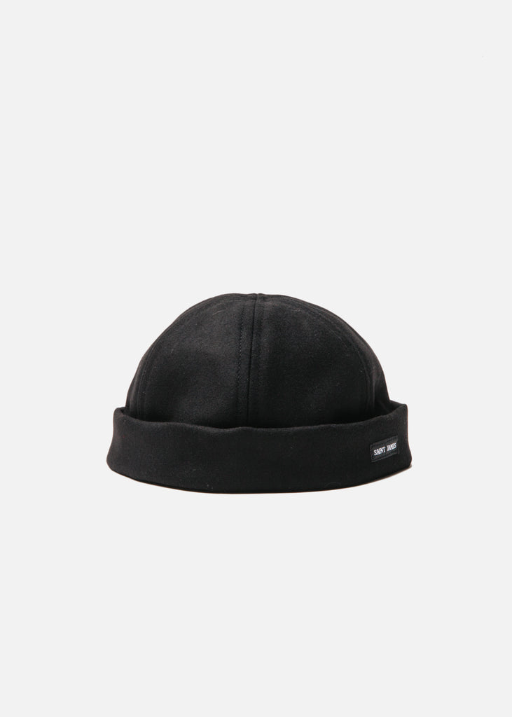 Marin Miki Watch Cap in Noir