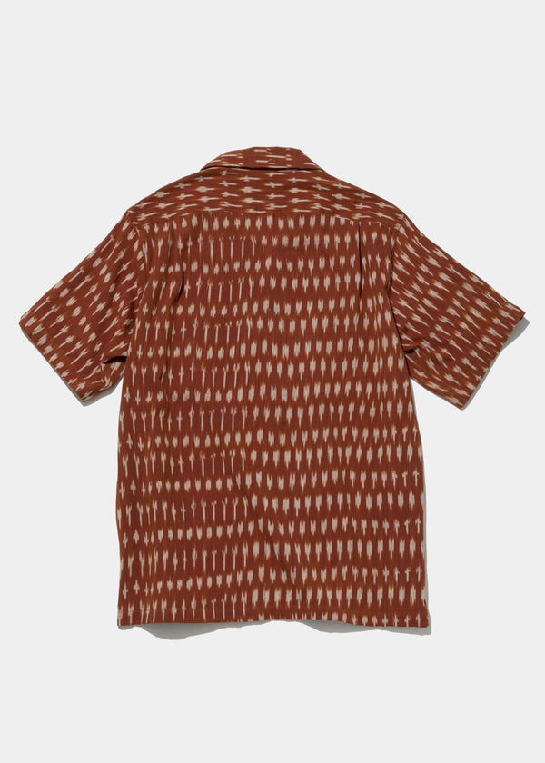 Five Pocket Island Shirt, Clay Ikat