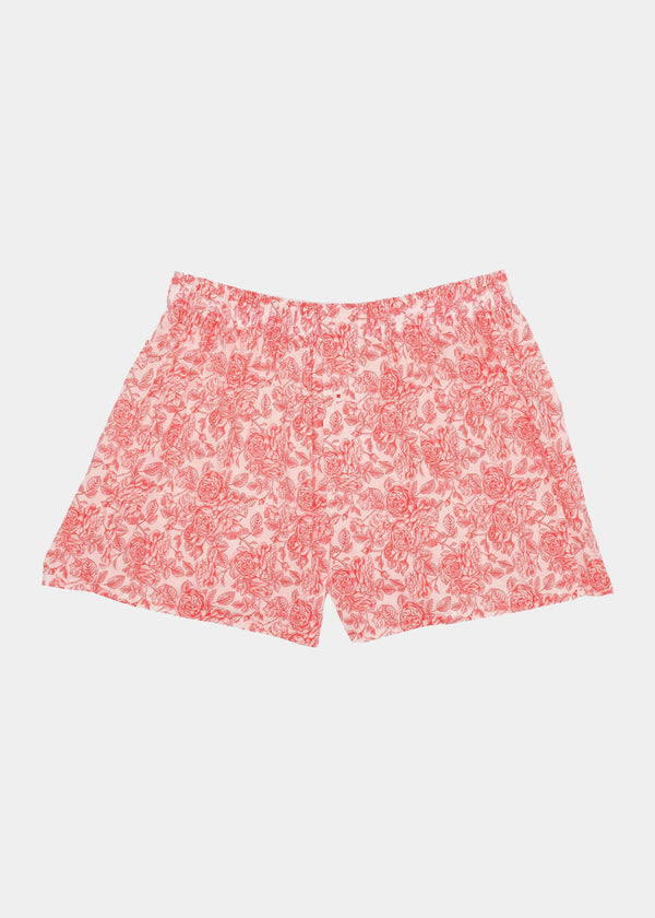 Organic Cotton Rose Boxer